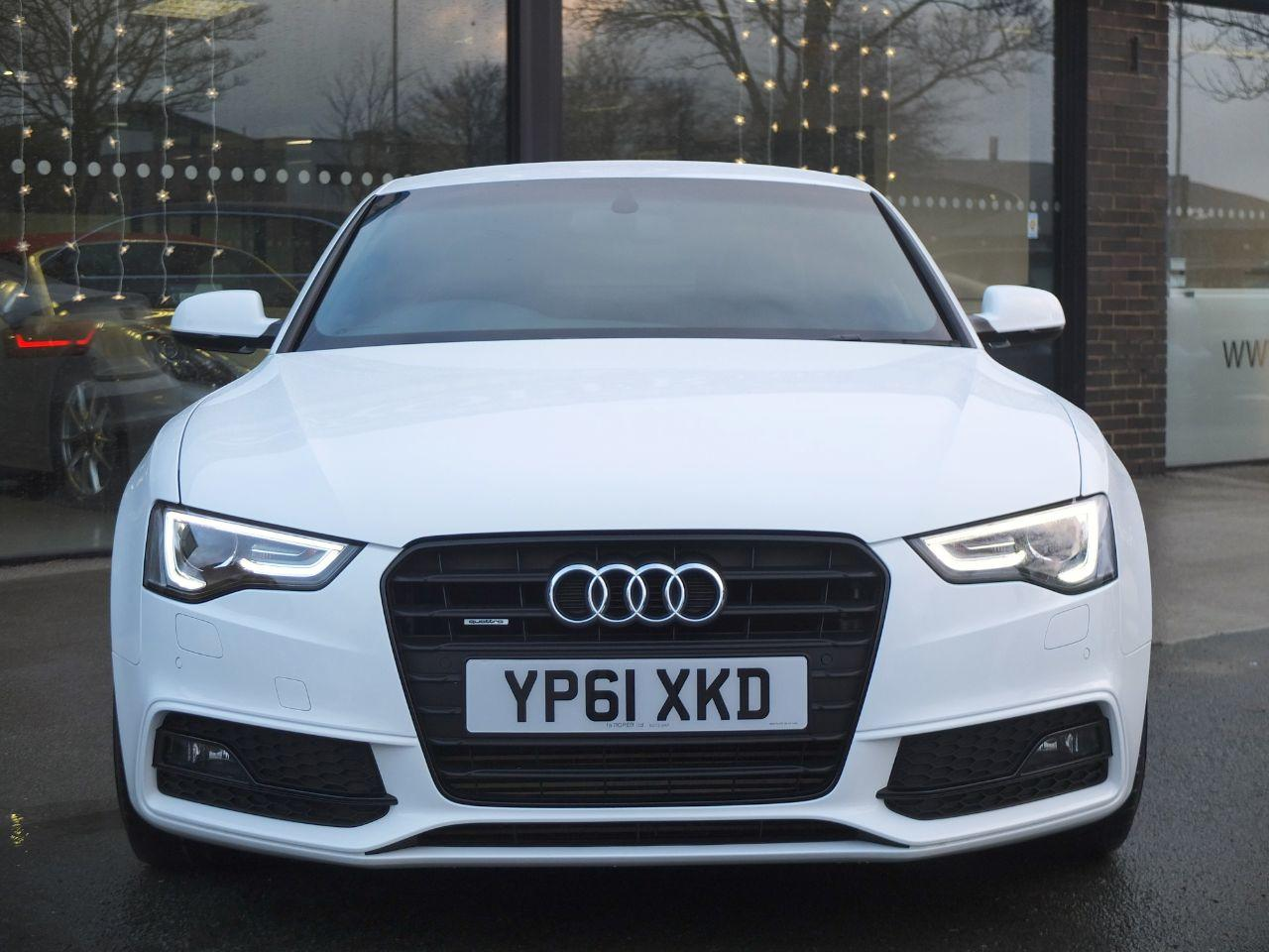Audi A5 Coupe 3.0 TDI 245ps Quattro Black Edition S Tronic (Facelift Model) +++Spec Coupe Diesel Ibis White