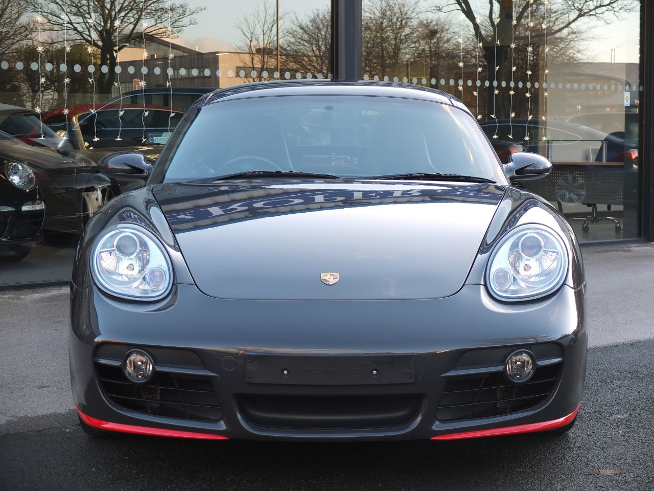 Porsche Cayman 3.4 S (RS Paint Finish) Coupe Petrol Grey Black (Gt3 Rs Colour) With Guards Red Detail
