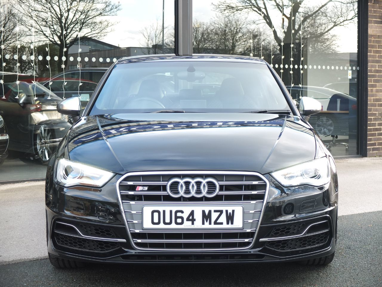 Audi S3 2.0 S3 TFSI Quattro 3dr S Tronic (Super Sports Seats) +++Spec Hatchback Petrol Mythos Black Metallic
