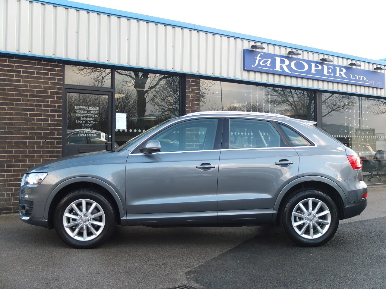 used audi q3 2 0 tdi 177 quattro se 5dr s tronic for. Black Bedroom Furniture Sets. Home Design Ideas
