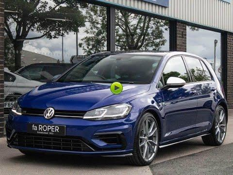 Volkswagen Golf 2.0 TSI R 4MOTION 5 door DSG 310ps Hatchback Petrol Lapiz Blue Metallic