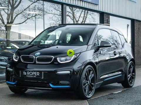 BMW I3 0.0 S Plus Pack 42kWh 120Ah Auto Hatchback Electric Fluid Black With Bmw I Blue Highlights